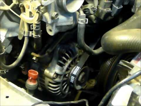 1999 Mazda Miata Alternator Replacement