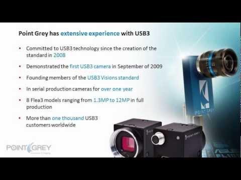Grasshopper3 USB3 - VISION 2012 - YouTube