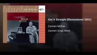 Get It Straight (Remastered 2001)