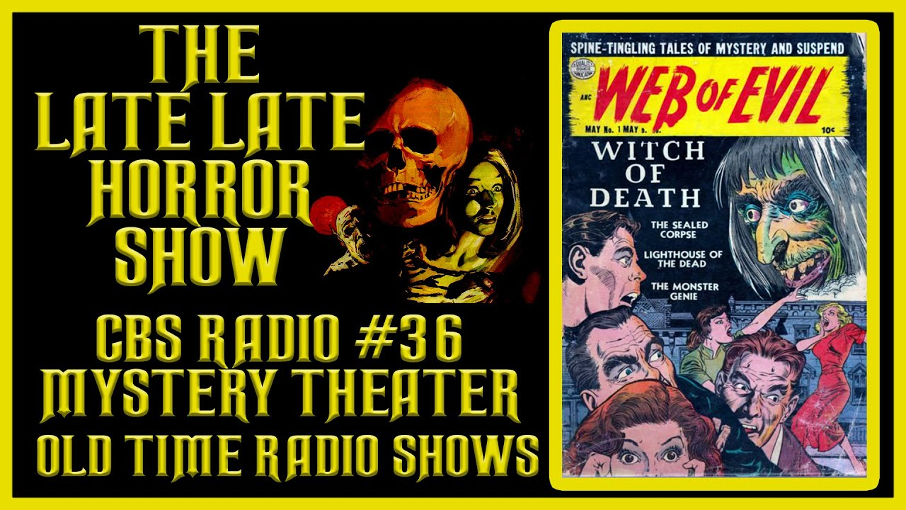 🟡 CBS RADIO MYSTERY THEATER OLD TIME RADIO SHOWS ALL NIGHT #36