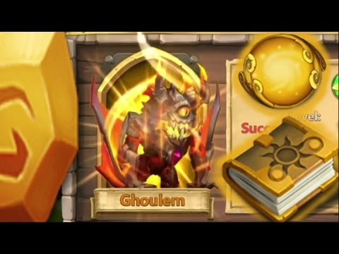 Castle Clash Evolving Ghoulem And Power Leveling