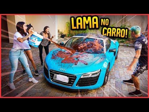 ELAS JOGARAM UM BALDE DE LAMA NO MEU CARRO!! - TROLLANDO REZENDE [ REZENDE EVIL ]
