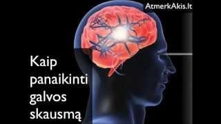 zonisamido migrenos svorio metimas)