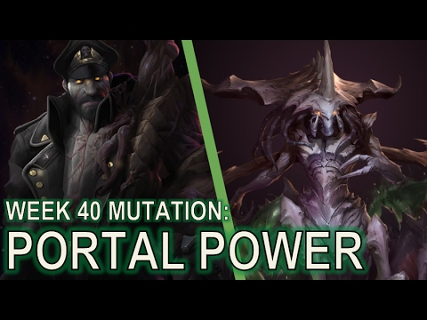 Starcraft II Co-Op Mutation #40: Portal Power [Free Units x 100]