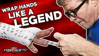 Watch how Freddie Roach Wraps a PRO's hand, Miguel Cotto