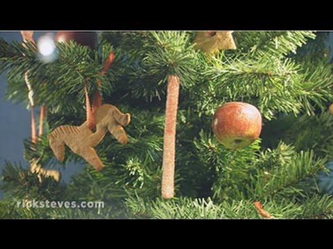 German Christmas Tree.Rothenburg Germany Christmas Tree Traditions