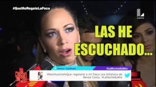 Yahaira Plasencia y Melissa Klug cara a cara