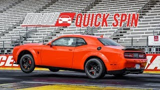 2018 Dodge Demon/2017 Durango Srt | Quick Spin