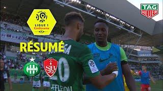 AS Saint-Etienne - Stade Brestois 29 ( 1-1 ) - Résumé - (ASSE - BREST) / 2019-20