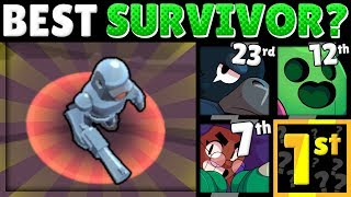 Brawl Stars Olympics! | The SURVIVAL Test! | Which Brawler Survives the BEST?!
