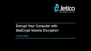 How to Encrypt Your Computer with BestCrypt Volume Encryption