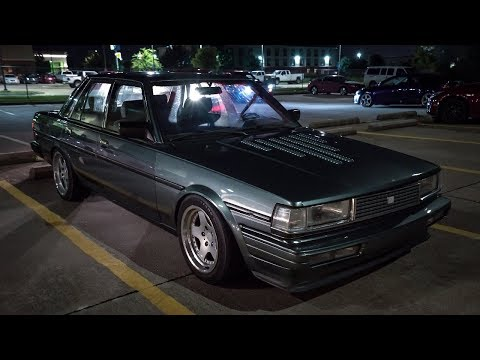 Highway Pulls In Aaron's 1JZ-GTE Swapped Toyota Cressida *Headphone Warning*