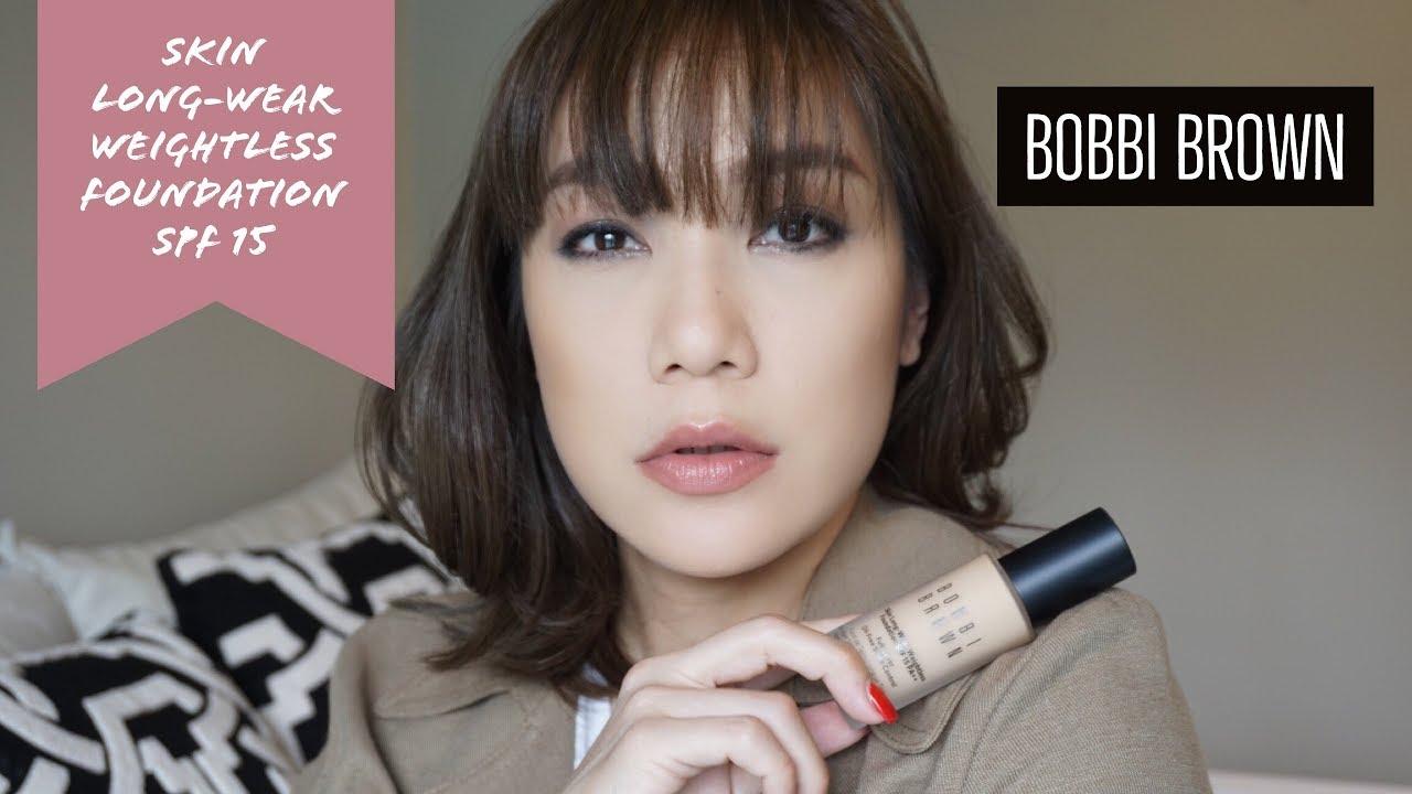 DAILYCHERIE : BOBBI BROWN NEW FOUNDATION REVIEW