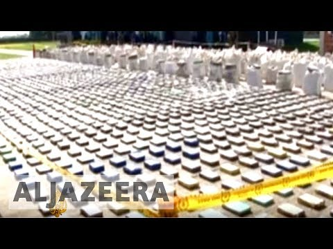 Eight tonnes of cocaine seized in biggest Colombian drug haul