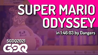 Super Mario Odyssey by Dangers in 1:46:03 - Summer Games Done Quick 2021 Online