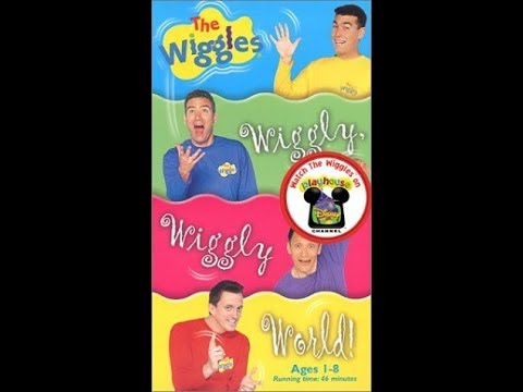 The Wiggles - Wiggly Wiggly World 1997 VHS