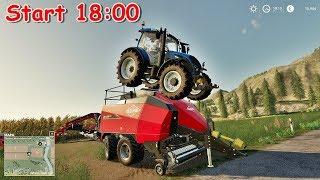 ????BOGACTWO NA CAŁEGO ! Rozbudowa Gospodarki ||Farming Simulator 2019 ! ???? #nażywo #live #farmingsimu - Na żywo