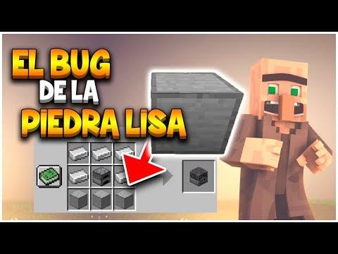Como Crear Piedra Lisa 20 Minecraft Pe Bedrock Youtube