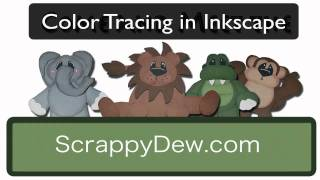 Sure Cuts A Lot: Color Tracing an image using Inkscape to use in SCAL