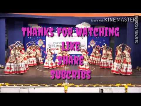 Rass Garba Dance Annual function 2017 D R Rana School