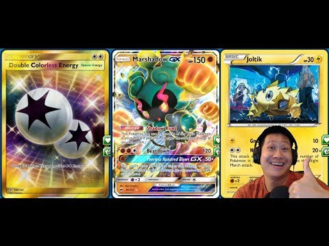 Night March MARSHADOW GX Deck, Quick 210+ Damage One Hit KO, Expanded Format