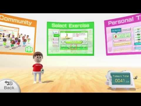 Wii Fit U Playthrough Part 1