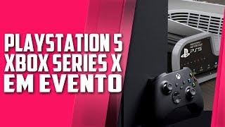 Playstation 5 e Xbox Series X CONFIRMADOS EM EVENTO e Tesla no BRASIL