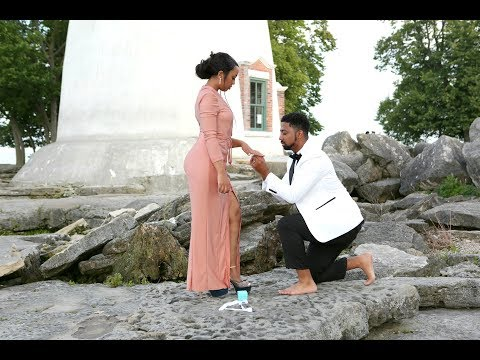 AMERICAN BOYFRIEND PROPOSES TO ETHIOPIAN GIRLFRIEND. (BELLA&DARREN) BLACKLOVE