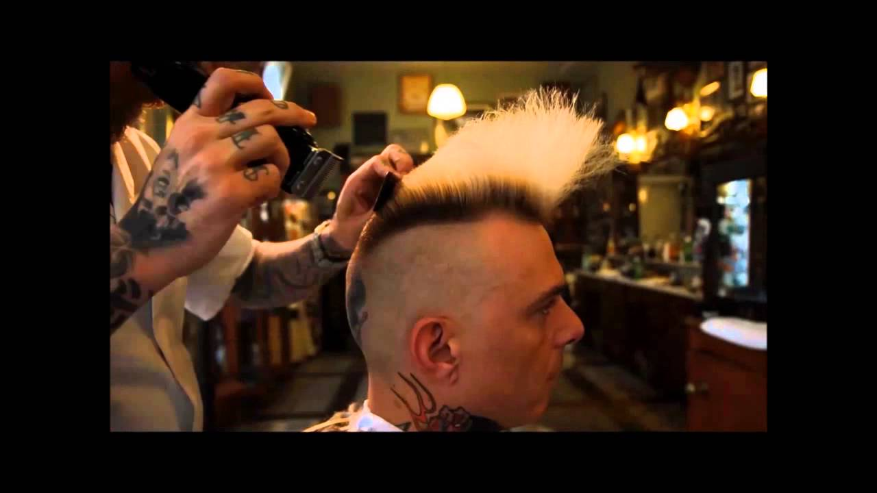 How To Cut A Psychobilly Quiff Youtube