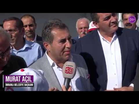 Hasret Gültekin Parkı İmranlı'da Açıldı