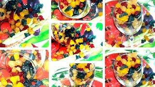 টুট্টিফ্রুট্টি রেসিপি    Homemade Tutti Frutti    How to make Tutti Frutti     টুট্টিফ্রুট্টি রেসিপি