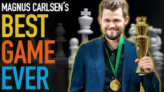 Magnus Carlsen's Best Game Ever