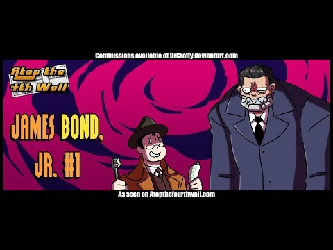James Bond, Jr. #1 - Atop the Fourth Wall