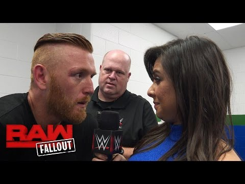 Heath Slater gets checked out by a WWE Trainer: Raw Fallout, August 15, 2016