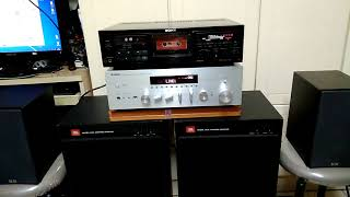 Yamaha R-N602 cassette tape test
