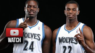 andrew wiggins anthony bennett full sl highlights 2014 07 17 vs rockets last game for cavaliers