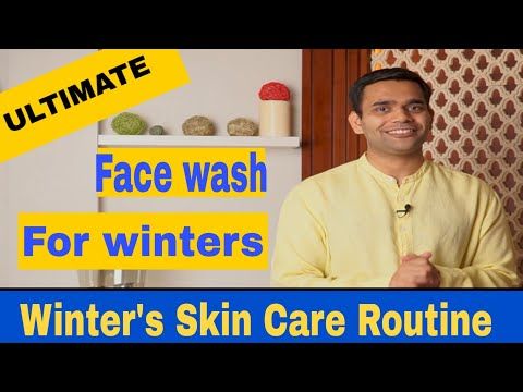 Homemade Face wash for winters | Winter's Skin Care Routine