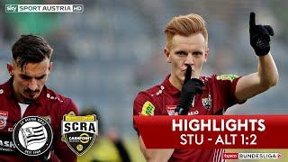 tipico Bundesliga, 17. Runde: SK Sturm Graz - SCR Altach 1:2