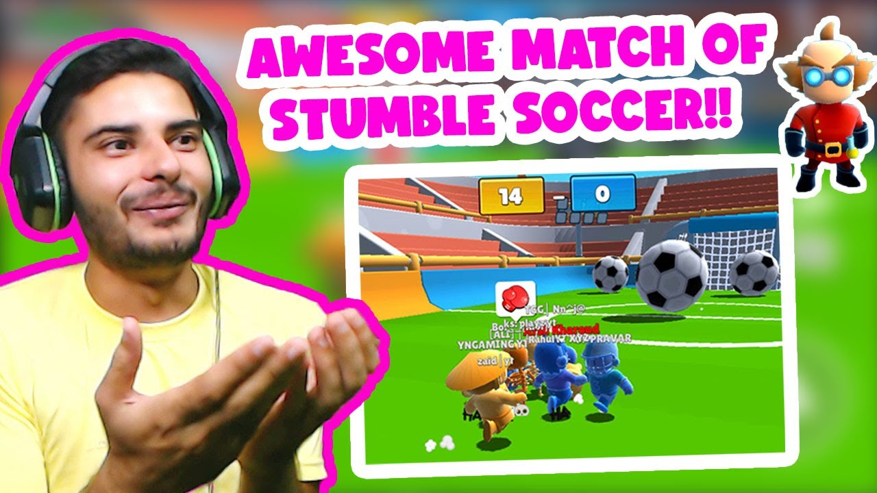 HUGE VICTORY IN STUMBLE SOCCER BECAUSE OF YOUR LOVE!!  Stumble Guys Latest Video  Stumble Guys.