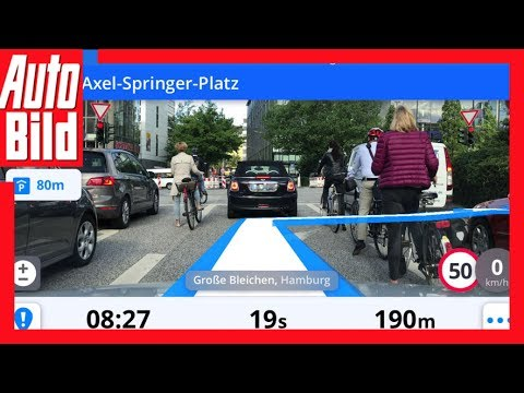 Navigation Sygic Augmented Reality - Navi-App mit Augmented Reality