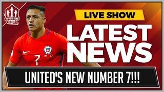 Alexis SANCHEZ MAN UTD's Next Number 7? MAN UTD Transfer News