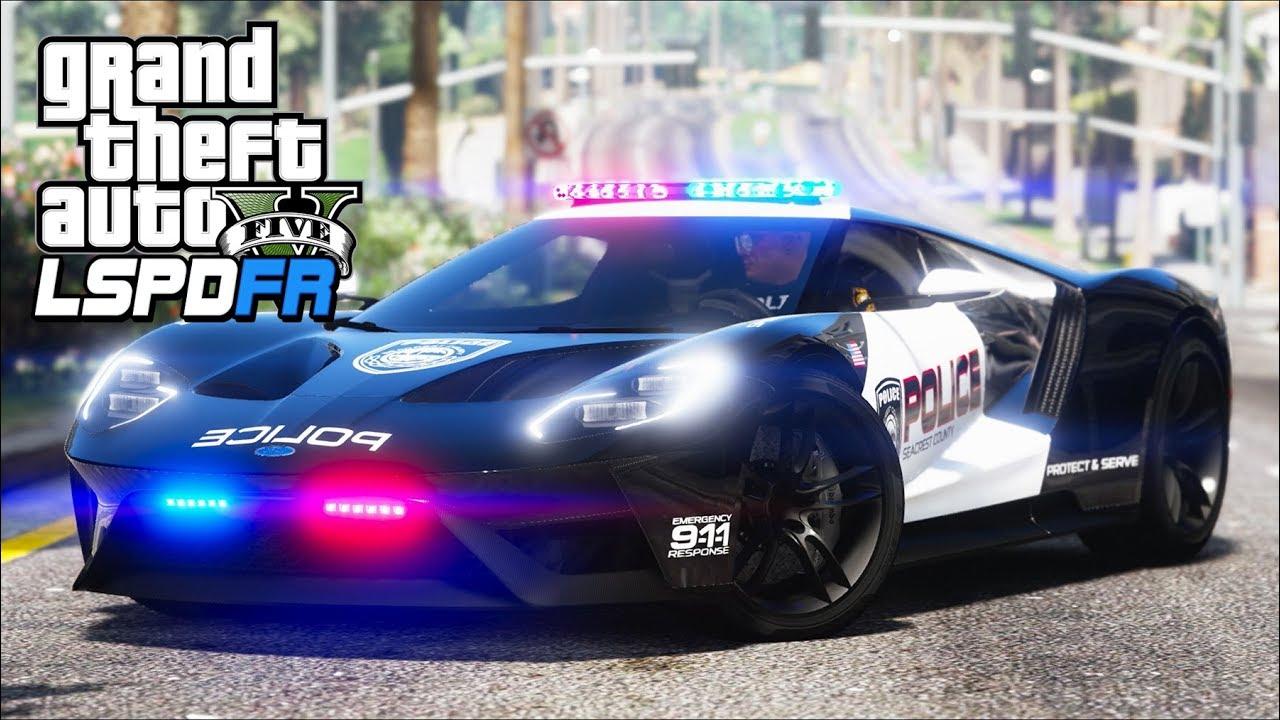 Gta  Lspdfr Ep  Ford Gt Supercar Patrol