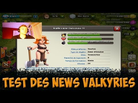 [LIVE] Test: Nouvelles Valkyries x27! / Clash of Clans