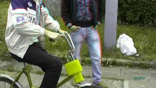 Пьяный Велосипед. Drunken Cyclists. 3D anaglyph video(День военно-морского флота. Архангельск--2011., 2011-08-01T15:10:17.000Z)