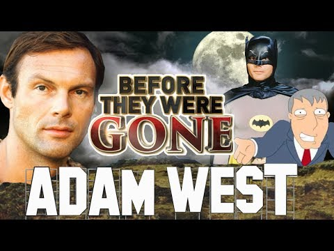 ADAM WEST - Before They Were GONE - BATMAN, FAMILY GUY