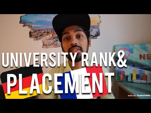 DOES COLLEGE(BUSINESS SCHOOL) RANK MATTERS AND PLACEMENT IN GERMANY & FRANCE?