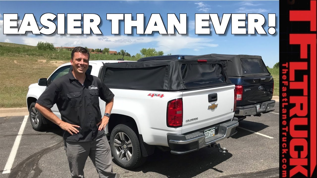 - Next Generation Truck Bed Topper: How Quick Can It Fold? - YouTube