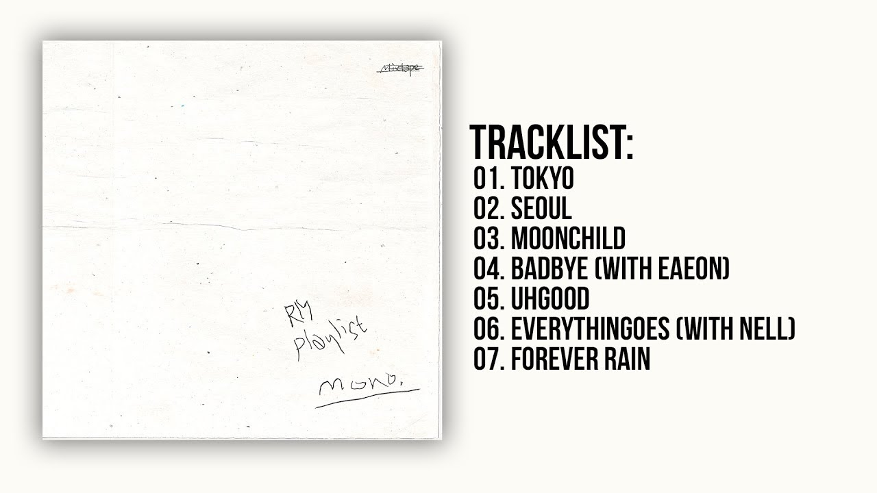 Full Album Rm Mono Mixtape Youtube