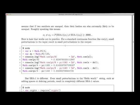 7   14   Git The SHA1 hash function 349]