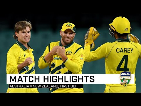 Australia Extend Hold Over New Zealand With Emphatic Win | Gillette ODI Series V NZ